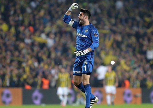 Fenerbahçe kalecisi Volkan Demirel
