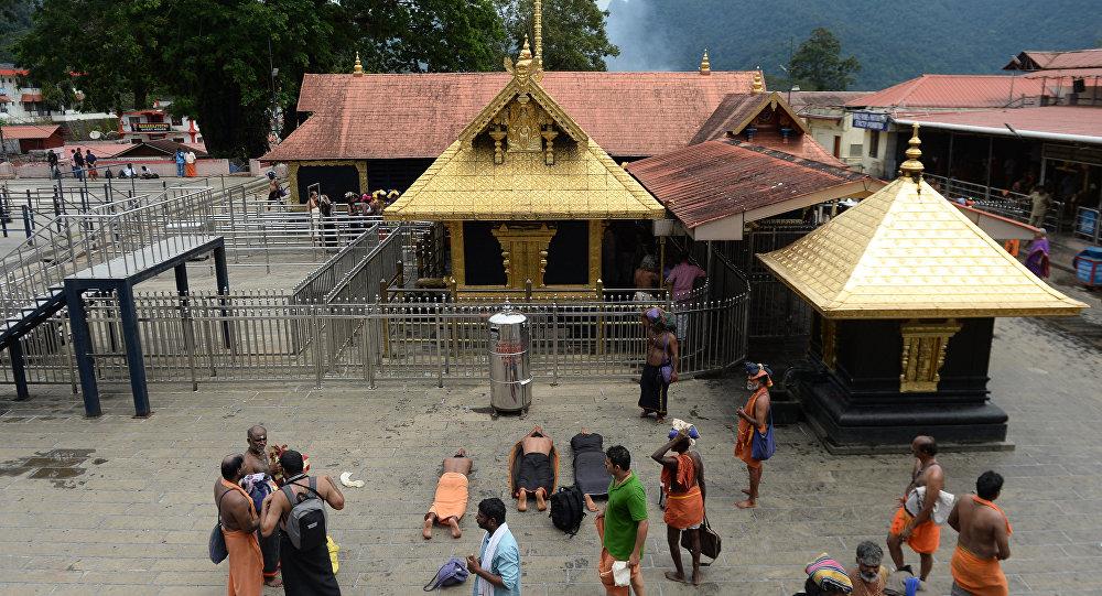 Hindistan - Sabarimala tapınağı