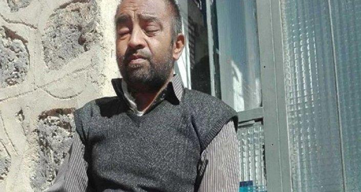 Afgan mülteci Seyyit Soltan Hüseyini