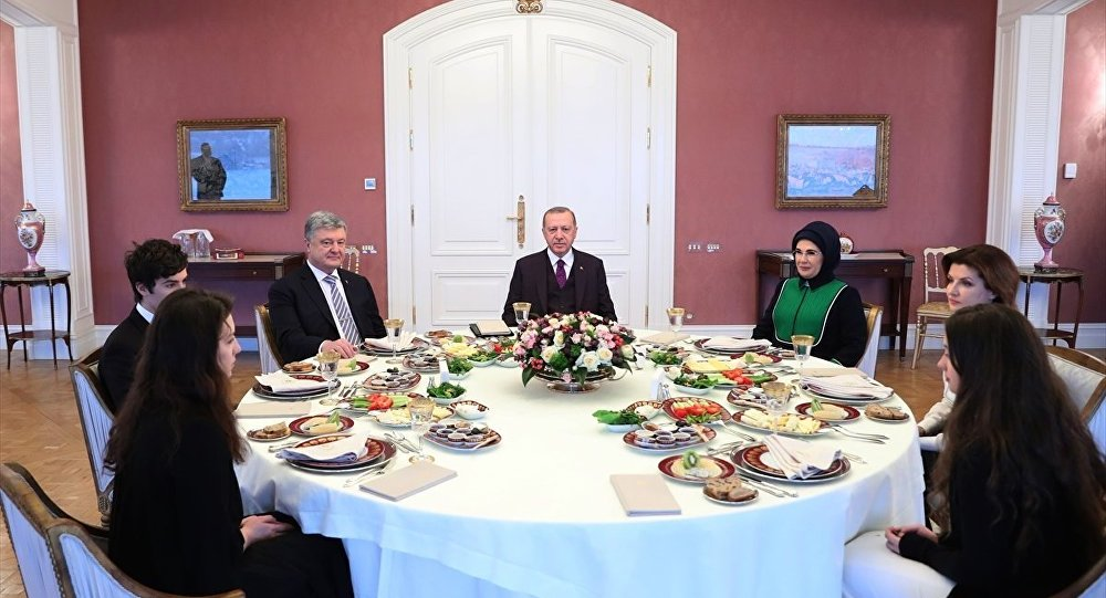 Erdoğan - Poroşenko