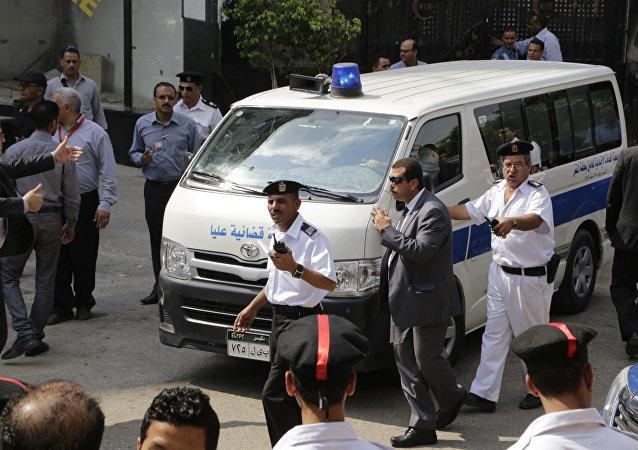 Ambulance, Egypt (file)
