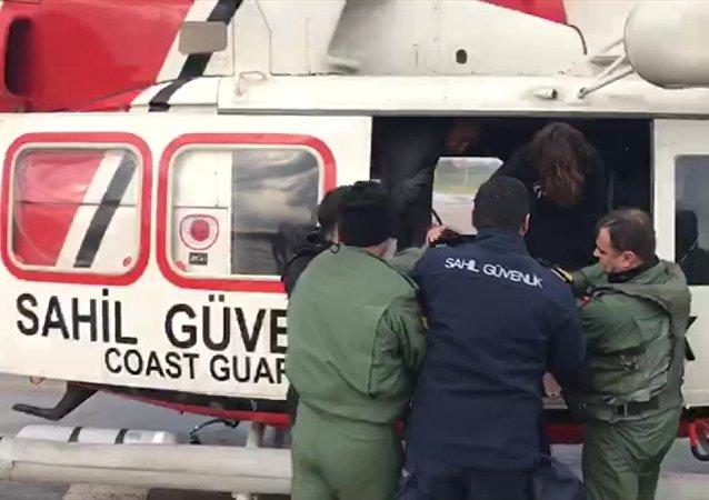 Samsun açıklarında gemi battı: 2 mürettebat yaşamını yitirdi