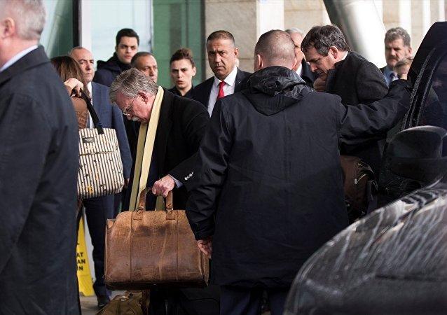 Beyaz Saray Ulusal Güvenlik Danışmanı John Bolton, Türkiye'den ayrıldı.
