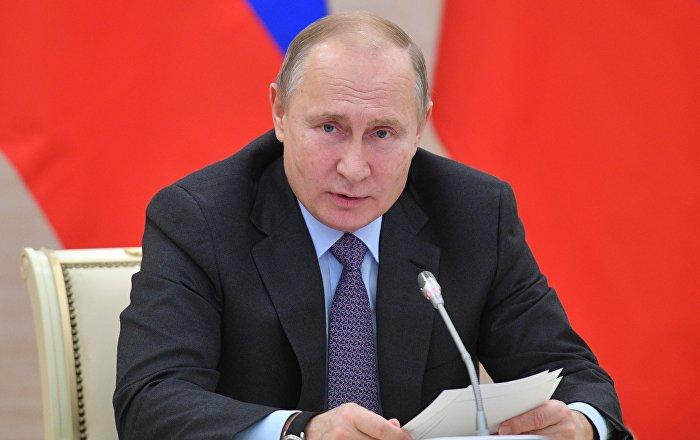 Putin, Hazar Denizi Anlaşması'nı Duma'ya sundu