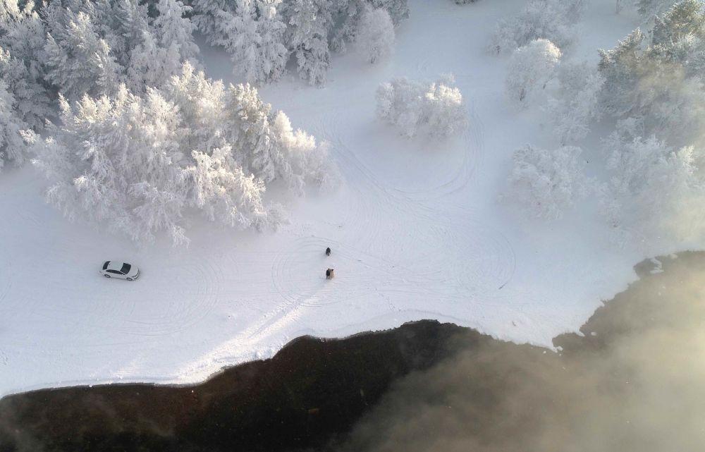 Rusya'dan kış manzaraları