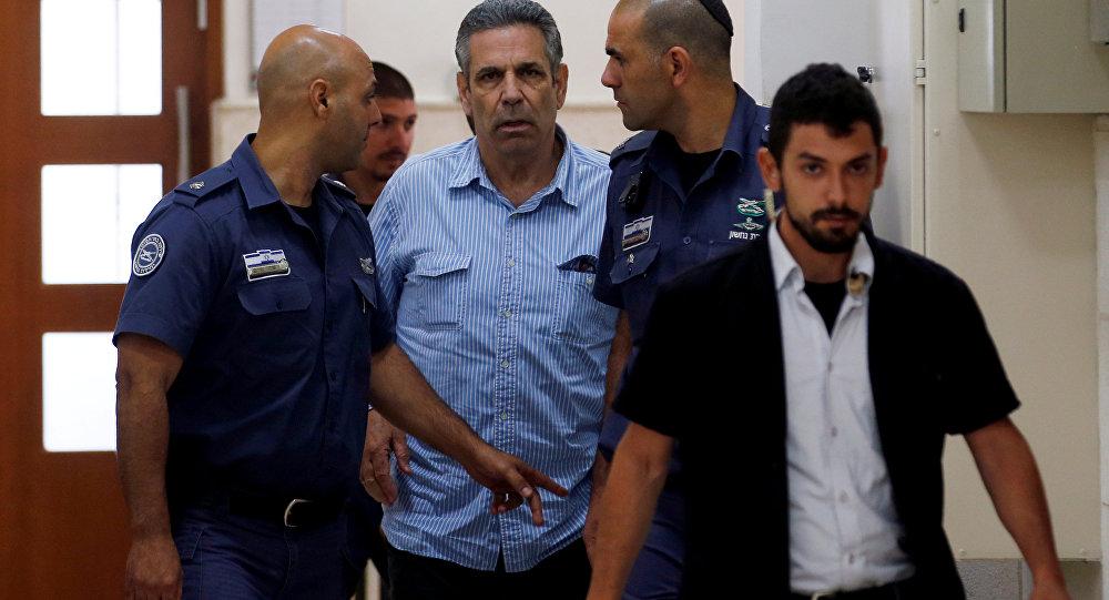 Gonen Segev 5 Temmuz 2018'de mahkemeye getirilirken