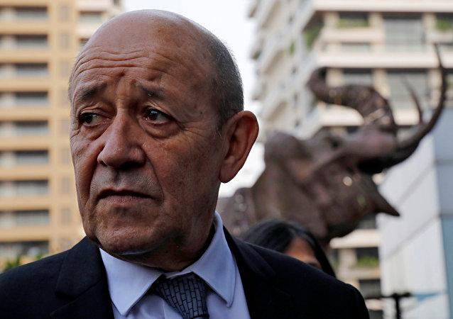 Fransa Dışişleri Bakanı Jean-Yves Le Drian
