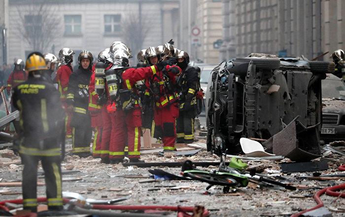 Fransız başkentindeki patlamada ölü sayısı 4'e yükseldi