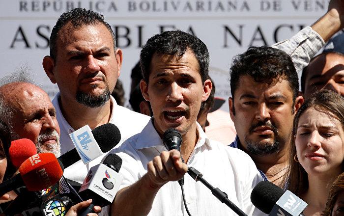 'Orduyu göreve çağıran' Venezüella Ulusal Meclis Başkanına kısa süreli gözaltı