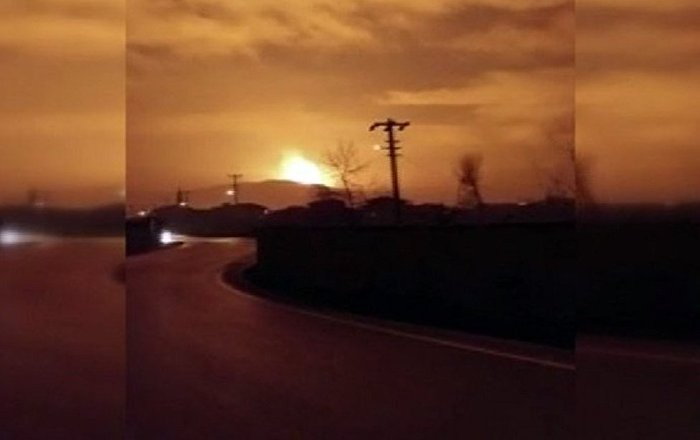 Sakarya'da doğalgaz boru hattının geçtiği bölgede patlama