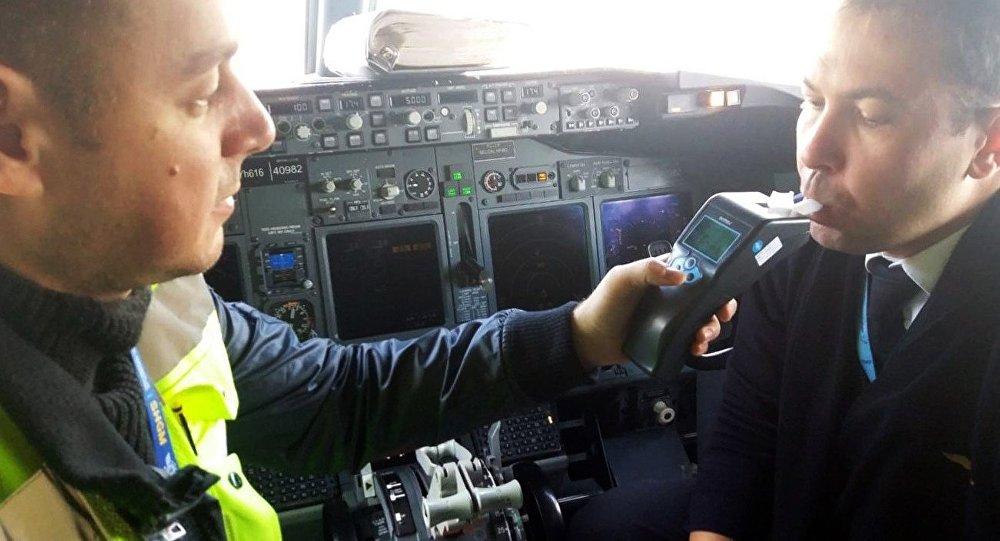 Uçaklarda alkol tarama testleri - Atatürk Havalimanı