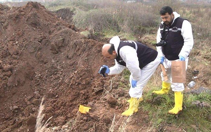 Palu ailesi soruşturması kapsamında Kocaeli'ndeki kazı çalışmalarında kemik bulundu