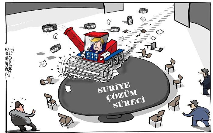 Rus senatör: ABD, Suriye'deki durumu ekonomik yaptırımlar aracılığıyla kontrol etmeye çalışıyor