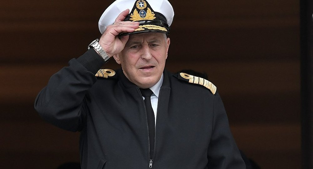 Yunanistan Savunma Bakanı Evangelos Apostolakis