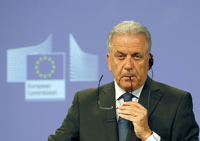 EU Commissioner for Migration, Home Affairs and Citizenship Dimitris Avramopoulos (File)