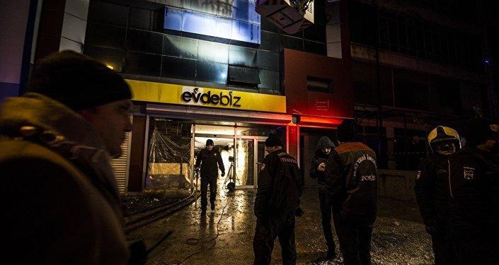 Ankara Siteler'de yangın: 'Suriye uyruklu 5 işçi hayatını kaybetti'