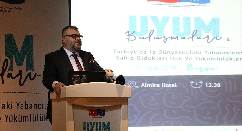 Göç İdaresi Genel Müdürlüğü Uyum İletişim Dairesi Başkanı Aydın Keskin Kadıoğlu, Bursa'da Suriyeliler tarafından bugüne kadar 400'ü aşkın fabrika kurulduğunu bildirdi.