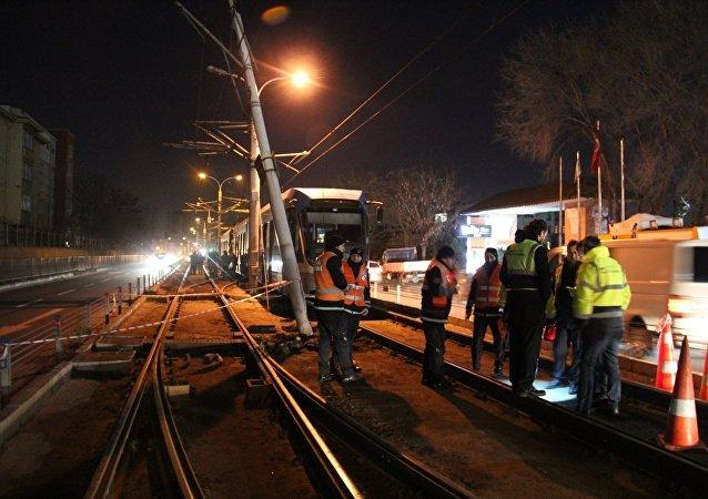 T1 Kabataş-Bağcılar Tramvay hattında arıza
