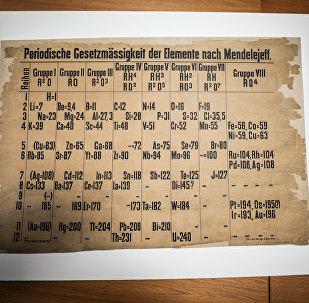 Dünyanın en eski periyodik tablosu 'yanlışlıkla' bulundu