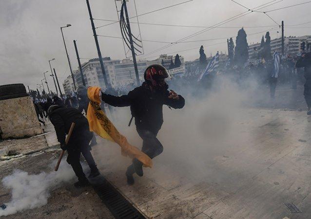 Yunanistan - eylemler