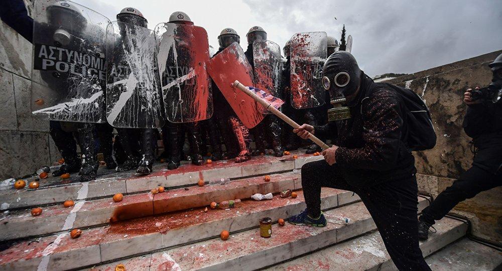 Yunanistan'daki protesto gösterileri