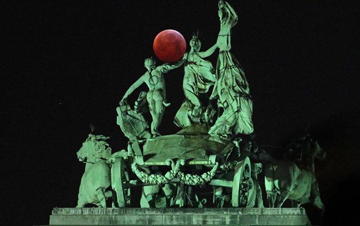 Belçika - Kanlı ay tutulması