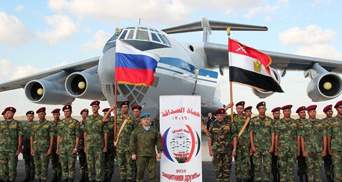 Friendship Defenders 2016 Russia-Egypt anti-terrorism drills