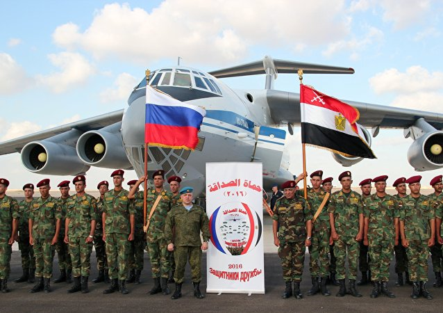 Friendship Defenders 2016 Russia-Egypt anti-terrorism drills