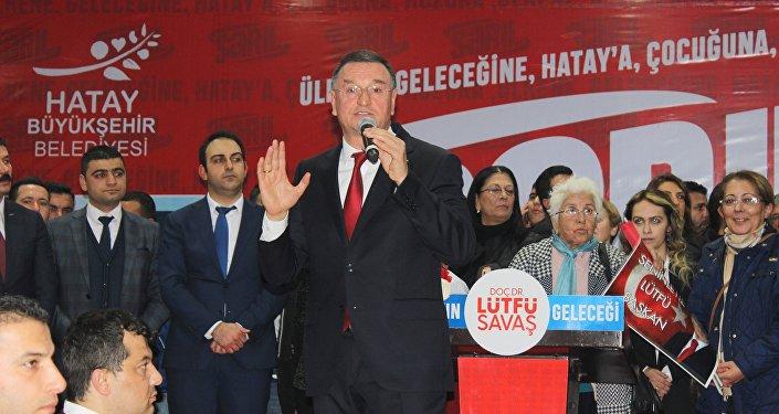 Hatay Büyükşehir Belediye Başkanı Lütfü Savaş