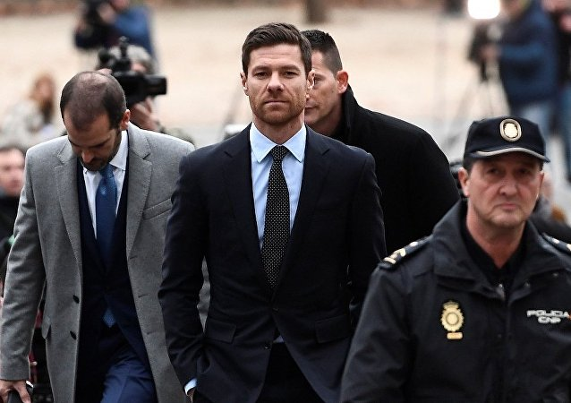 eski İspanyol futbolcu Xabi Alonso