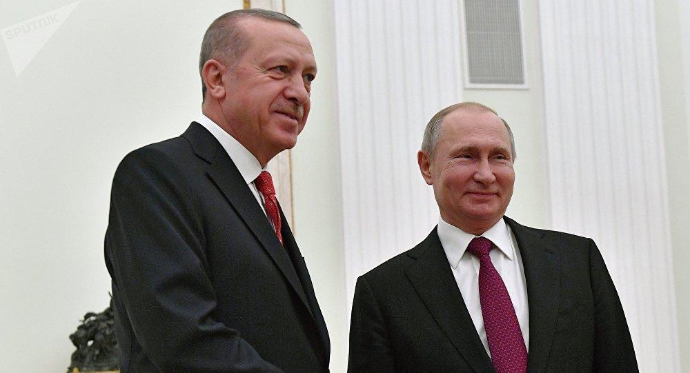Putin-Erdoğan görüşmesi