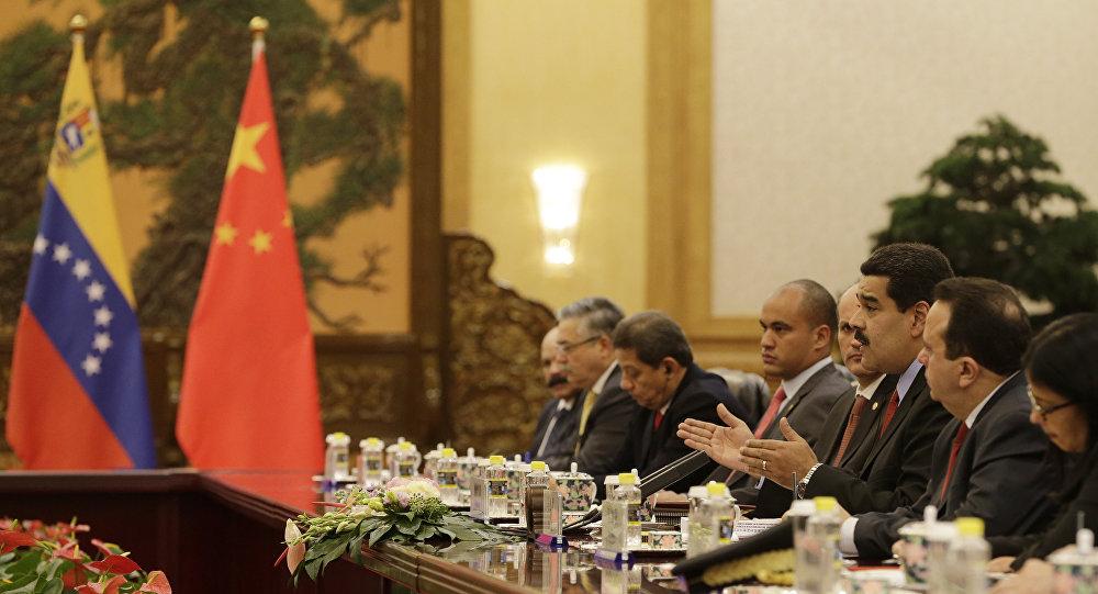 Çin - Maduro