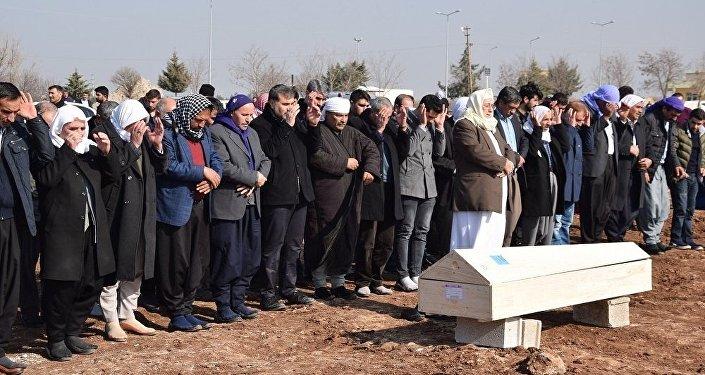 13 yaşındaki Berivan Karakeçili'nin cezanesi Şanlıurfa'da toprağa verildi.