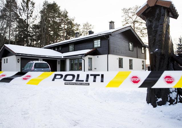 Anne-Elisabeth Falkevik Hagen ile Tom Hagen çiftinin Norveç'in başkenti Oslo'nun hemen dışındaki Lorenskog kentindeki evi