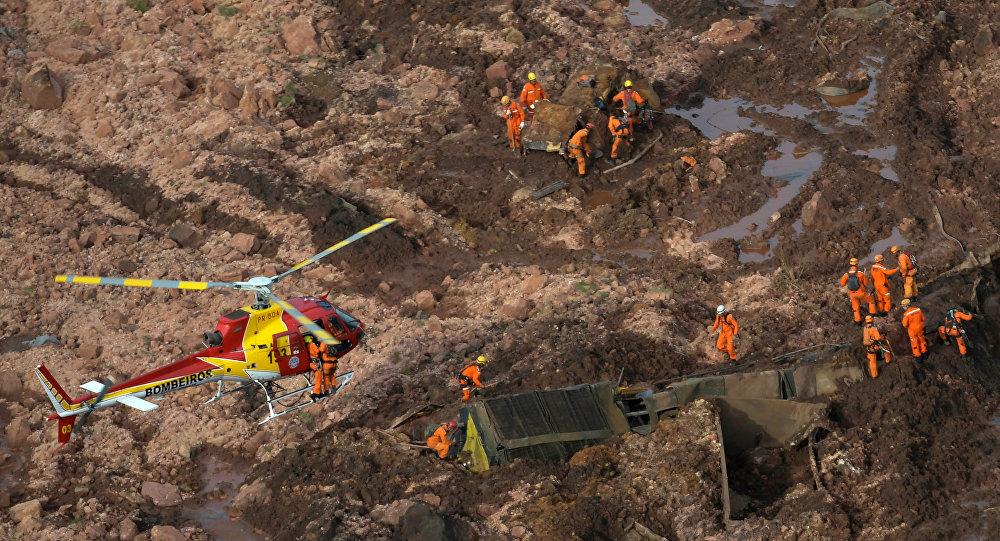 Brezilya'da maden barajı çöktü