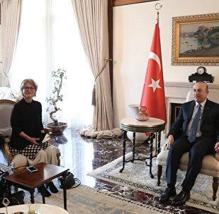 Dışişleri Bakanı Çavuşoğlu - BM raportörü Callamard