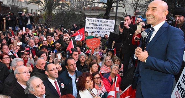 CHP İzmir Büyükşehir Belediye Başkan adayı Tunç Soyer