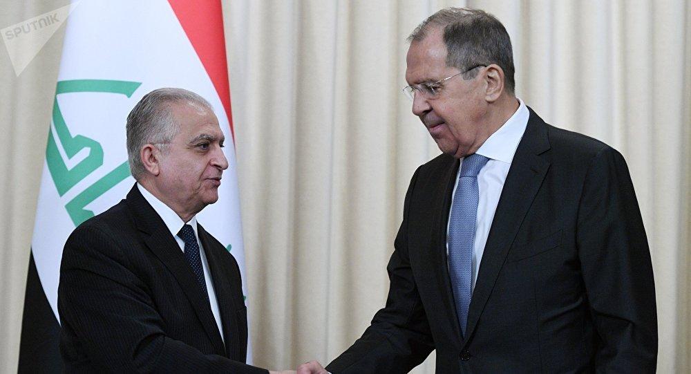 Irak Dışişleri Bakanı Muhammed Hakim ve Rusya Dışişleri Bakanı Sergey Lavrov