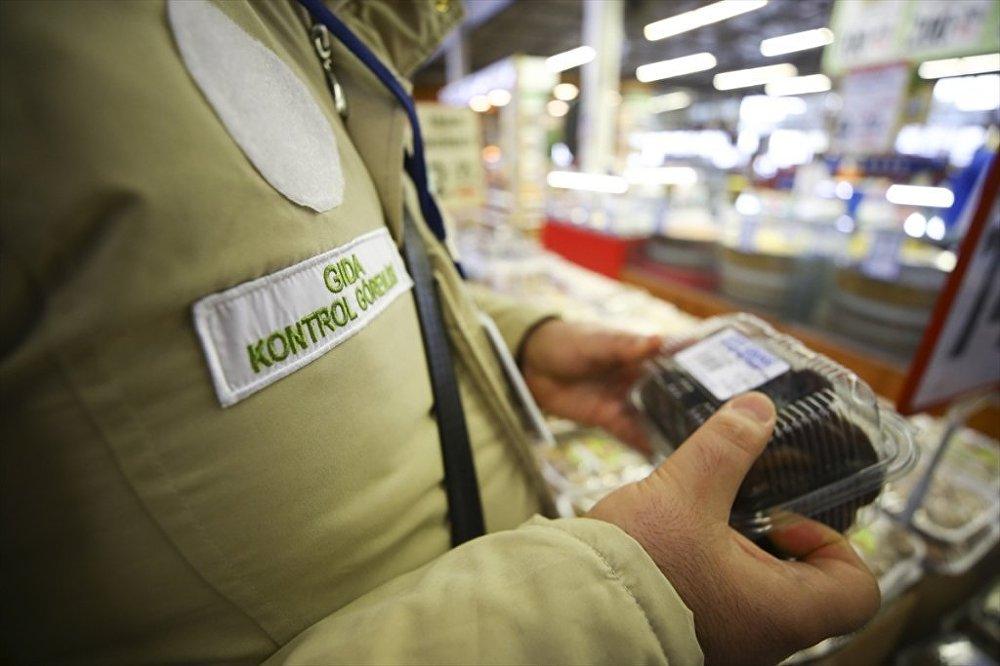 Marketlerde gıda kontrolü - Tarım ve Orman Bakanlığı gıda kontrol ekipleri