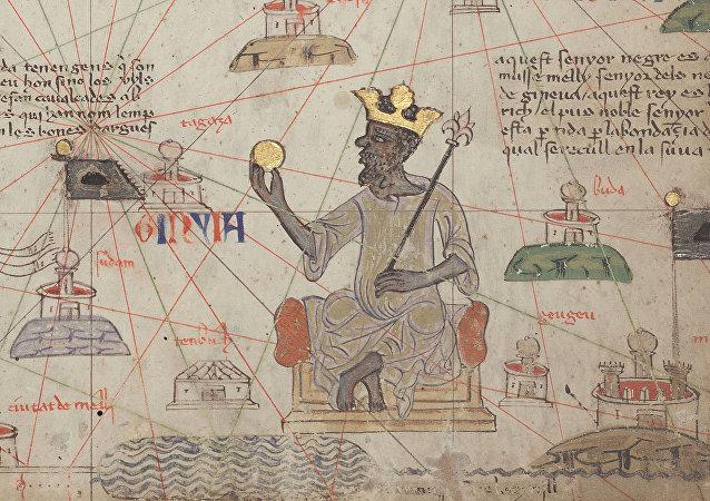 Mansa Musa en el Atlas Catalán