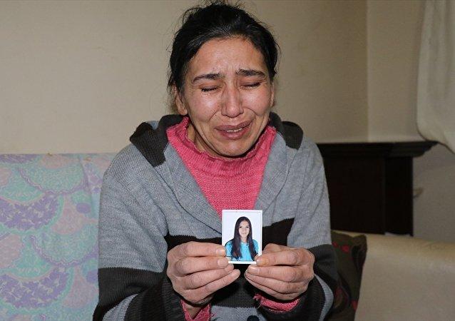 Kızının bulunmasını isteyen anne Emine Ö