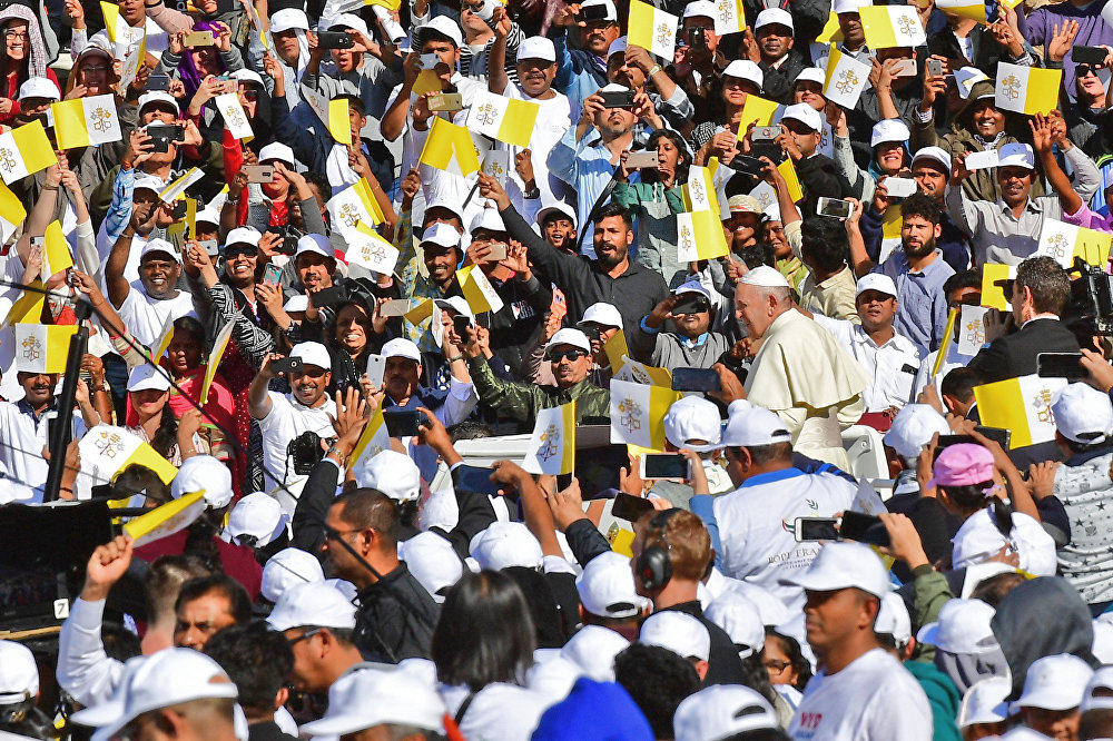 Papa Francis Birleşik Arap Emirlikleri'nde