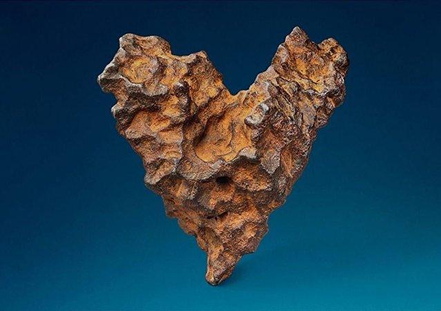 Kalp şeklinde meteor