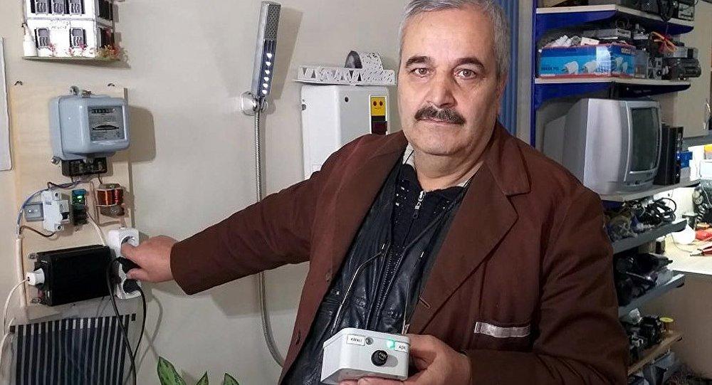 'Dadaş mucit' lakaplı 57 yaşındaki elektrik teknisyeni Ebubekir Taşbaşı