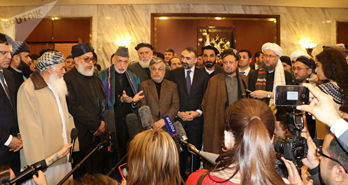 Afgan siyasetçiler ile Taliban temsilcileri arasında Moskova'da yapılan toplantı