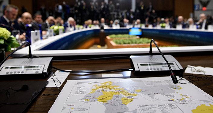ABD'de gerçekleştirilen IŞİD Karşıtı Koalisyon Dışişleri Bakanları Toplantısı