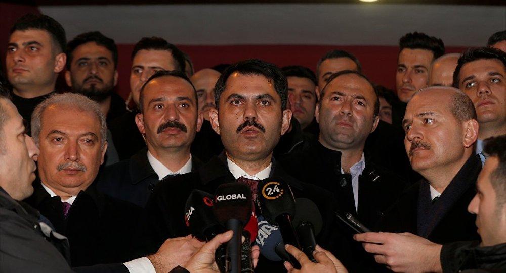 Şehircilik Bakanı Murat Kurum