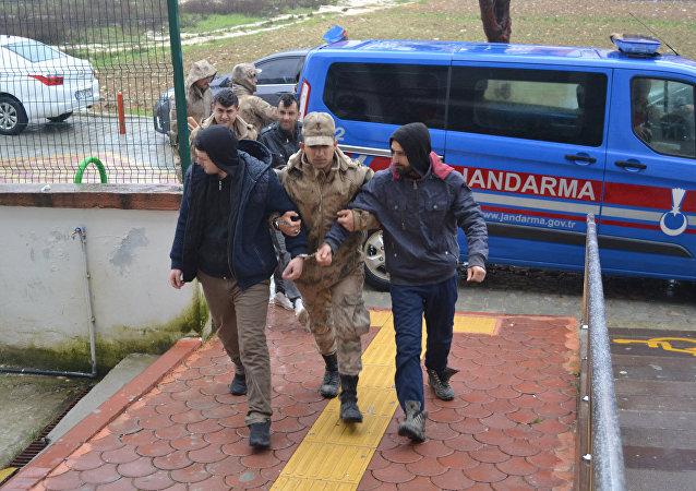 Hatay'da 1'i İngiliz vatandaşı 4 HTŞ'li yakalandı