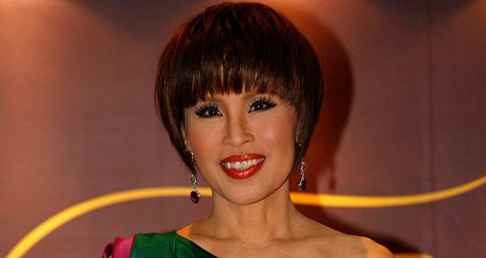 Tayland Kralı'nın ablası, Prenses Ubolratana Rajaka (67), 2010 yılındaki bir etkinlikte