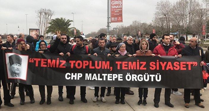Bir grup CHP'li Ankara'ya yürüyüş başlattı